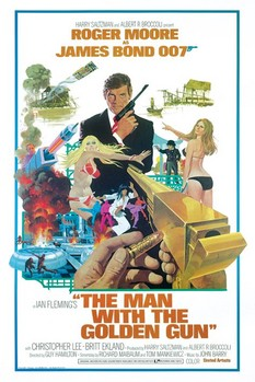 JAMES BOND 007 - the man with the golden gun posters | art prints