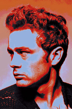 JAMES DEAN - popart posters | art prints