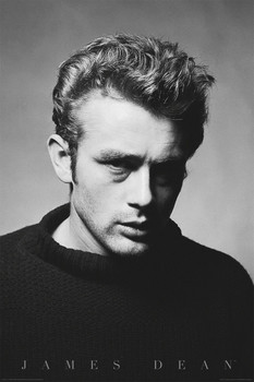 JAMES DEAN - portrait posters | art prints