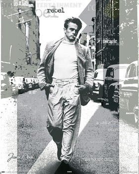 JAMES DEAN - street posters | art prints