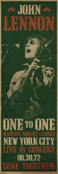 John Lennon - concert Poster, Art Print