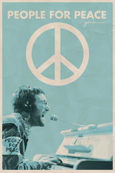 JOHN LENNON - people for peace posters | art prints
