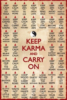 KEEP KARMA posters | art prints