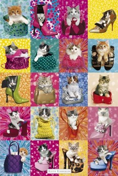 KEITH KIMBERLIN - cat collage posters | art prints
