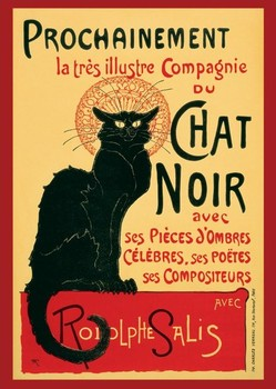 LE CHAT NOIR - steinlein posters | art prints