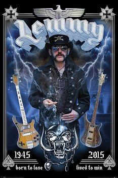 Lemmy - Commemorative Poster, Art Print