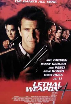 LETHAL WEAPON 4 Poster, Art Print