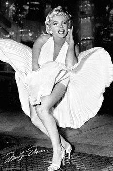 Marilyn Monroe - New York Dress Poster, Art Print
