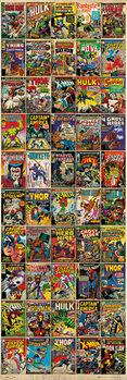 MARVEL - comic covers Poster, Art Print