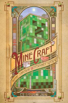 Minecraft - computronic  Poster, Art Print