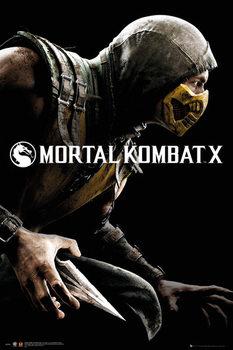 Mortal Kombat X - Cover Poster, Art Print