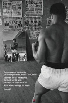 MUHAMMAD ALI - gym posters | art prints