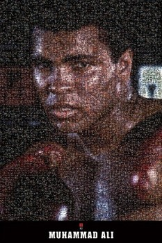 MUHAMMAD ALI - mosaic posters | art prints