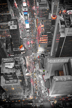 New York - Times Square Lights Poster, Art Print