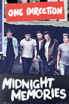 One Direction - album cover Poster, Art Print