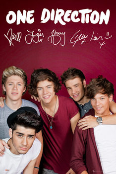 ONE DIRECTION - maroon posters | art prints