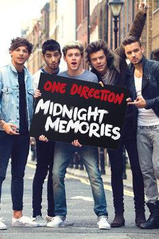 One Direction - Memories Poster, Art Print