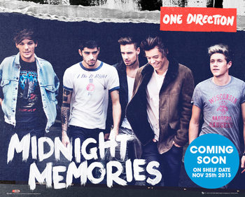One Direction - Midnight Memories Poster, Art Print
