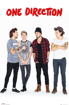 One Direction - New Group Poster, Art Print