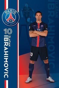 Paris Saint-Germain FC - Zlatan Ibrahimović Poster, Art Print