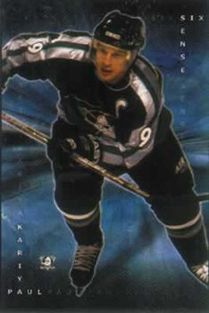 Paul Kariya - NHL Poster, Art Print