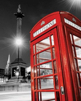 RED TELEPHONE BOX posters | art prints