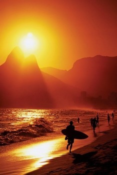 RIO DE JANEIRO - ipanema beach posters | art prints