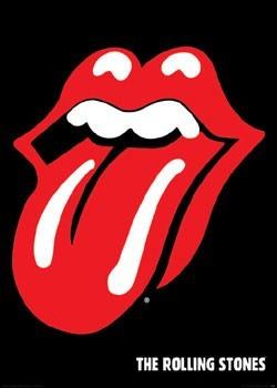 Rolling Stones - lips Poster, Art Print