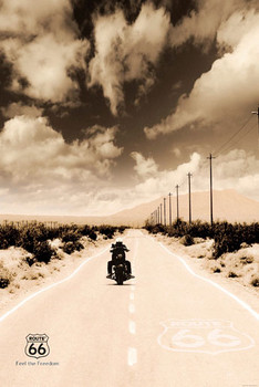 ROUTE 66 - Biker posters | art prints