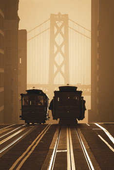 SAN FRANCISCO - tram 2 posters | art prints