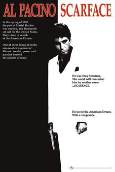 Scarface - movie Poster, Art Print
