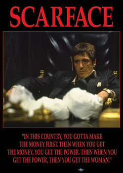 SCARFACE - power posters | art prints