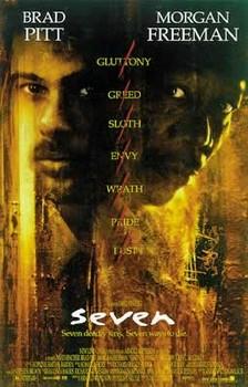 SEVEN - movie Poster, Art Print