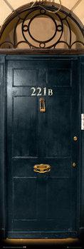 Sherlock - 221b Door Poster, Art Print