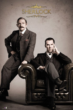 Sherlock - Victorian Poster, Art Print