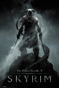 Skyrim - Dragonborn Poster, Art Print