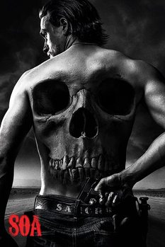 Sons of Anarchy - Jax Back Poster, Art Print