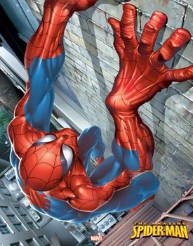 SPIDER-MAN - climbing posters | art prints