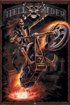 Spiral - hell rider Poster, Art Print