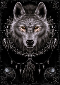 SPIRAL - wolf dreams posters | art prints