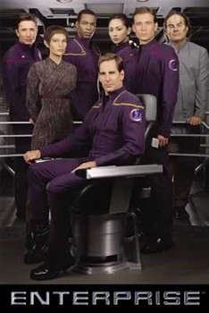 STAR TREK ENTERPRISE - crew posters | art prints