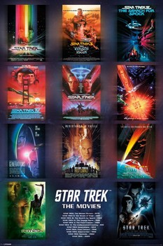 STAR TREK - movie posters posters | art prints