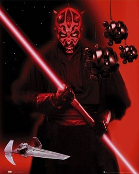 Star Wars - darth maul Poster, Art Print