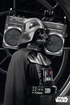 STAR WARS - darth vader boombo posters | art prints