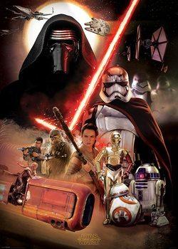Star Wars Episode VII: The Force Awakens - Montage Poster, Art Print