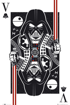 STAR WARS - playing card posters | art prints