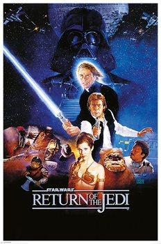 Star Wars: Return Of The Jedi - One Sheet Poster, Art Print