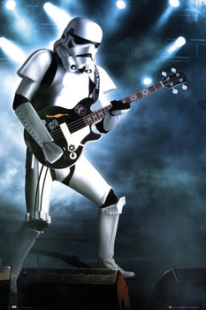 STAR WARS - storm trooper guitar posters | art prints