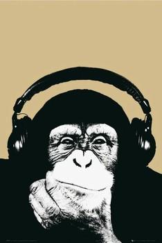 Steez - monkey Poster, Art Print