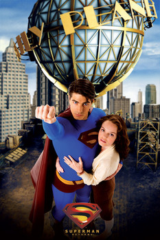 SUPERMAN - and lois Poster, Art Print